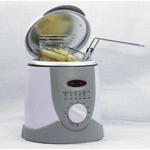 stainless steel mini deep fat fryer. Black Bedroom Furniture Sets. Home Design Ideas